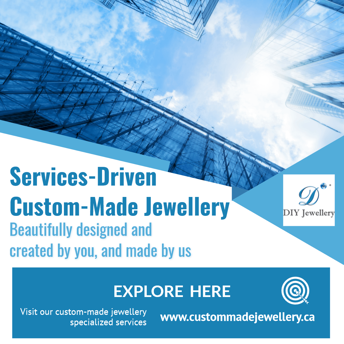 Visit our Custom-Made Jewellery website for specific custom services. This link will open in a new window.